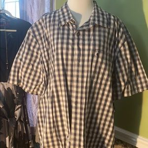 Men's 2XL Carhartt short sleeve button up shirt